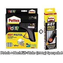 Pattex 1954467/Hei/ßklebepistole mit 6/Minen von Monteverde Klebestifte 20/g