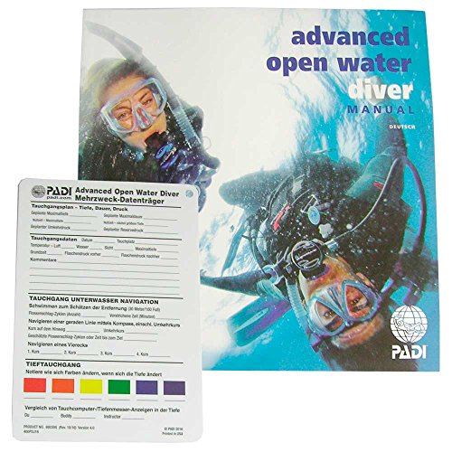 Padi - Manual Advanced Open Water Diver mit Data Carrier (G) -