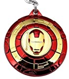 Ank collections Avenger's SuperHero Iron Man Face Logo Rotating Metal Key Chain
