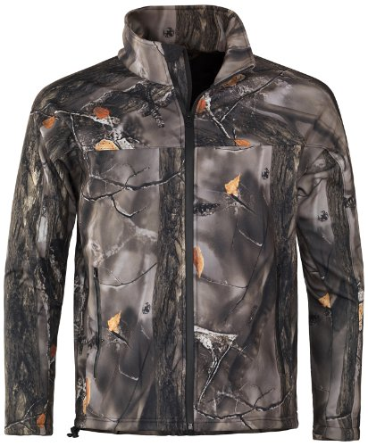 lucky-bums-einsiedler-youth-soft-shell-jacke-xs-mehrfarbig-recluse-camouflage