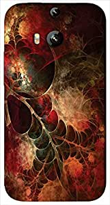 Timpax protective Armor Hard Bumper Back Case Cover. Multicolor printed on 3 Dimensional case with latest & finest graphic design art. Compatible with only HTC - M8. Design No :TDZ-20175
