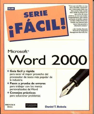 Word 2000 serie facil por Daniel Bobola