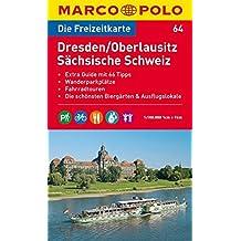 MARCO POLO Freizeitkarte Dresden, Oberlausitz, Sächsische Schweiz 1:100.000 (MARCO POLO Freizeitkarten)
