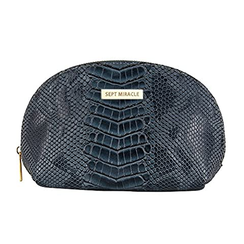 Summer New Fashion Crocodile Cosmetic Bag for Girls and Women