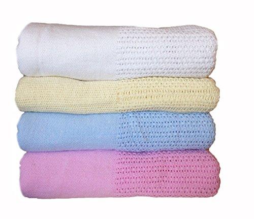 Baby-Decke aus 100 % Baumwolle für Kinderbetten und Babykörbchen (Thermal-baby-decke)