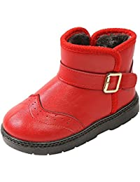 0ce5994605c7fe SITAILE Kinderschuhe Mädchen Schuhe Winter Outdoor Warm Schneestiefel  Winterstiefel Gefüttert Stiefel Stiefeletten Boots für Jungen…