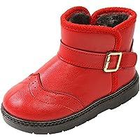 4214f80648597 SITAILE Kinderschuhe Mädchen Schuhe Winter Outdoor Warm Schneestiefel  Winterstiefel Gefüttert Stiefel Stiefeletten Boots für Jungen Mädchen
