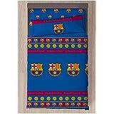 FC Barcelona Referencia NI Juegos de sábanas y Fundas de Almohada Alfileres para faldón de Cama Textiles del hogar Unisex Adu