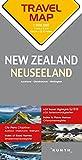 Reisekarte Neuseeland 1:800.000: Travel Map New Zealand