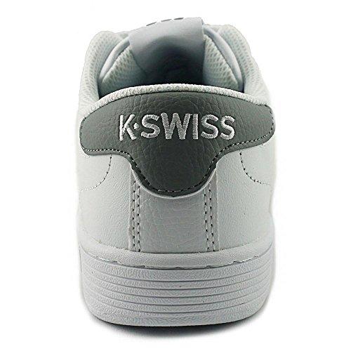 K-Swiss Hoke CMF Leder Tennisschuh White/Wild Dove