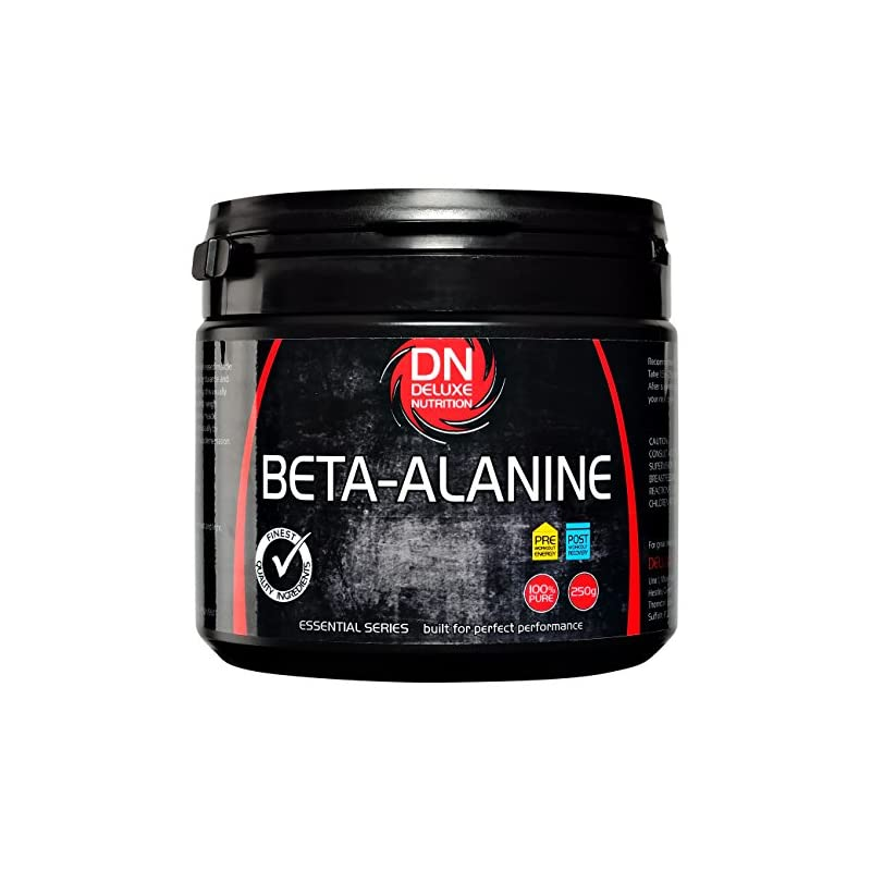 Deluxe Nutrition 250g Beta Alanine Powder Tub