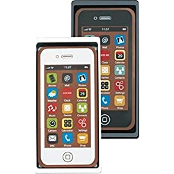 Smartphone en chocolat - couleur blanche - 40 g