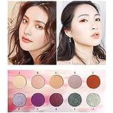 HoSayLike Color Maquillaje Plato 10 Tonal Lubricante Ajuste De Plato Sol Brillante Sombra De Ojos Plato Sombras De Ojos Profesionales