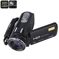 Ordro Z20 Wi-Fi Digital Video Camera - 1/4 Inch 8MP CMOS Sensor, 1080p Video, 24 MP Photos, 16x Digital Zoom, Anti-Shake