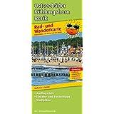 Ostseebäder Kühlungsborn - Rerik: Rad- und Wanderkarte mit Ausflugszielen, Einkehr- & Freizeittipps und Stadtplänen, wetterfest, reißfest, abwischbar, GPS-genau. 1:30000
