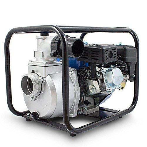 BITUXX® Benzin Schmutzwasserpumpe Wasserpumpe Motorpumpe Kreiselpumpe Gartenpumpe Teichpumpe 6,5PS, 60.000l/h, max. Förderlänge 36m, 3Zoll Anschluss - 5