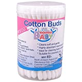 Mommas Baby India Cotton Buds-White