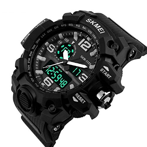 Skmei-Analogue-Digital-Black-Dial-Mens-Watch-1155