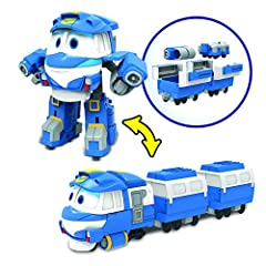 Idea Regalo - Robot Treni-Figurine Transformable Deluxe Kay, 80177