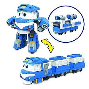 Robot Trenes-Figura transformable Deluxe Kay, 80177