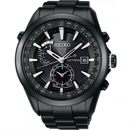 Seiko - Herren -Armbanduhr- SAST007G