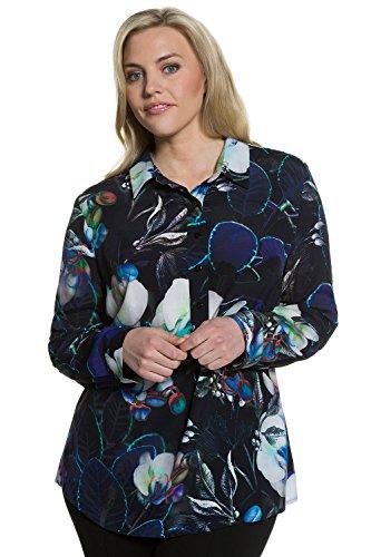 Ulla Popken Femme Grandes tailles Tunique 705783 Multicolore
