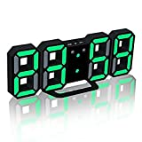 Best Digital Wall Clocks - TRADE® LED Electronic Wall Clock, Digital 3D LED Review
