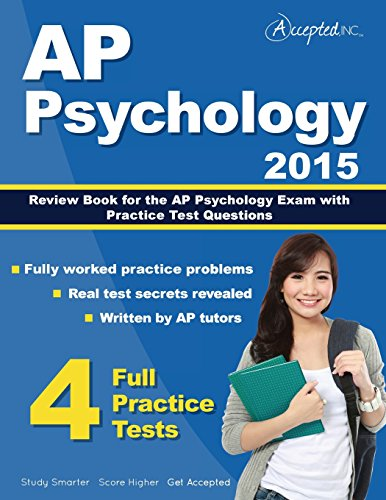AP Psychology 2015: Review Book for Psychology Exam with Practice Test Questions (Ap Psychology Exam Review Book)