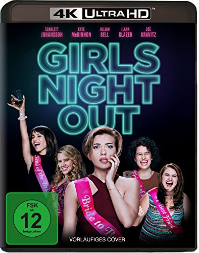 Girls' Night Out - Ultra HD Blu-ray [4k + Blu-ray Disc]