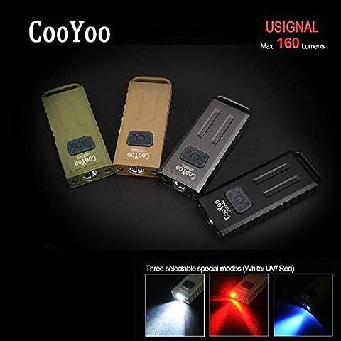 Bazaar Cooyoo usignal xp-g2 Mini USB multifunción 160lm LED llavero