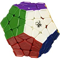 DaYan Megaminx Stickerless 12 Color Speed Cube with Ridges