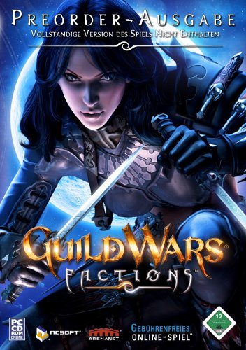 Guild Wars Factions - Pre-Order-Pack Nightfall Pc