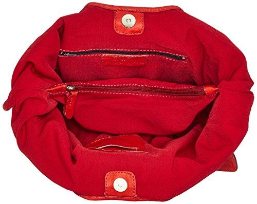 Slingbag Düsseldorf, Borsa tote donna Marrone marrone Für den Alltäglichen Gebrauch gut geeignet. Die Produktmaße entnehmen sie bitte aus den Produktdetails., rosso (Marrone) - 4251042503653 rosso