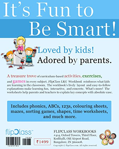 Smart Kids Worksheets (Bundle) for LKG ( KG 1 ) and Montessori (3-5 ...