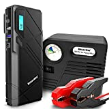 Die besten Tragbare Jump Starter - Imazing Auto Starthilfe,1500A Spitzenstrom 12000mAh SuperSafe Tragbare Autobatterie Bewertungen
