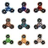 BTAMZ Fidget Hand Spinner Enfant ou Adulte Roulement Haute Vitesse Tourne 1 Minute Jeu Sensoriel Tri-Spinner Fidget Toy