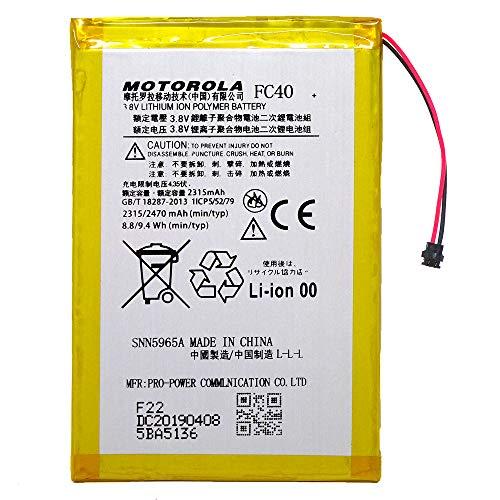 Batteria nuova ricambio Motorola FC40 per Moto G3 3ª Gen XT1540 XT1541 2470mAh