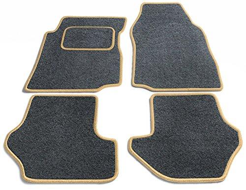 Preisvergleich Produktbild JediMats 42055L-Pre-Prestige-Schi Prestige Maßgeschneiderte Fußmatte für Ihr Auto, Schiefer