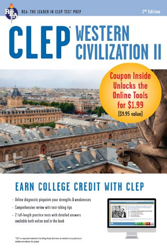 CLEP Western Civilization II with Online Practice Exams (CLEP Test Preparation) (English Edition)