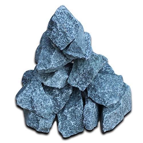 HomeMiYN Pierres pour Sauna 15 kg 6-8cm Bleu