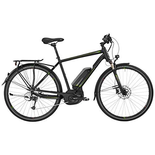 Bergamont E-Horizon 7.0 Herren Bosch Pedelec Elektro Fahrrad schwarz/grün 2017