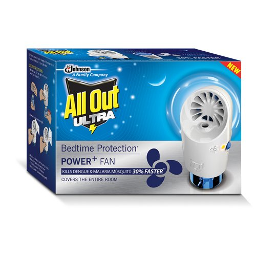 All Out Power Fan Machine with Refill