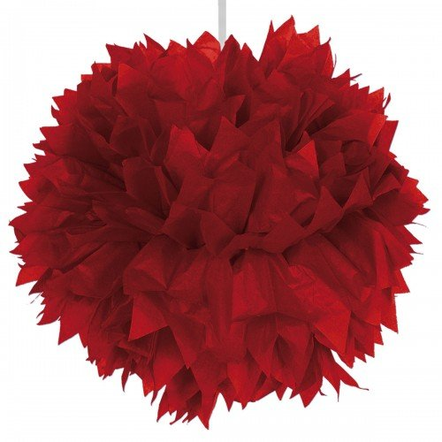 Pompom 30cm Red Light Colour -2 -