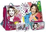 Violetta Zaino Estensibile + Astucio triplo + Cuffie + Poster