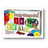 Play Fun Kindergeburtstag Spielset 23-teilig mit Eierlaufen Sackhüpfen