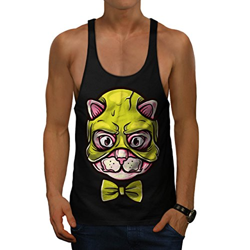 mystical-cat-face-masked-animal-men-black-s-gym-tank-top-wellcoda