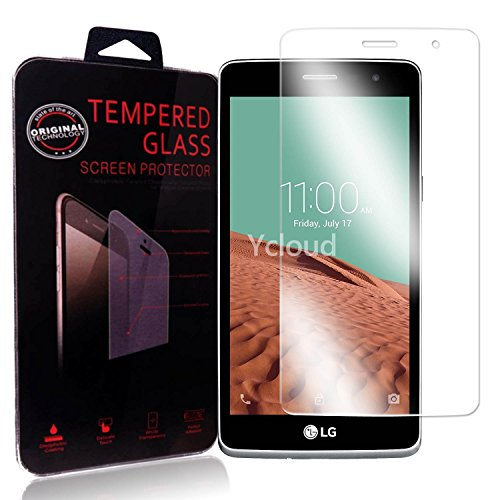 Ycloud Panzerglas Folie Schutzfolie Bildschirmschutzfolie für LG Bello II / Bello 2 screen protector mit Härtegrad 9H, 0,26mm Ultra-Dünn, Abger&ete Kanten