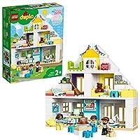 LEGO10929DUPLOTownModularPlayhouse3-in-1Set,DollsHousefor2+YearOldGirlsandBoyswithFiguresandAnimalsforToddlers