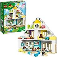 Lego 10929 Duplo 3-i-1 Bostadshus med Figurer och Djur, Flerfärgad