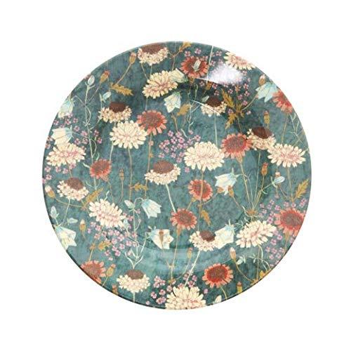 Rice Teller aus Melamin mit Muster Fall Flower Print, Größe 20 cm Muster Fall